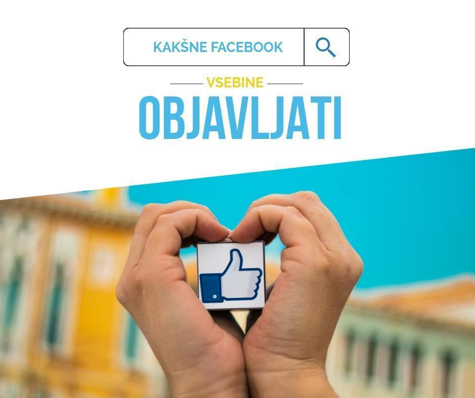 Facebook vsebina